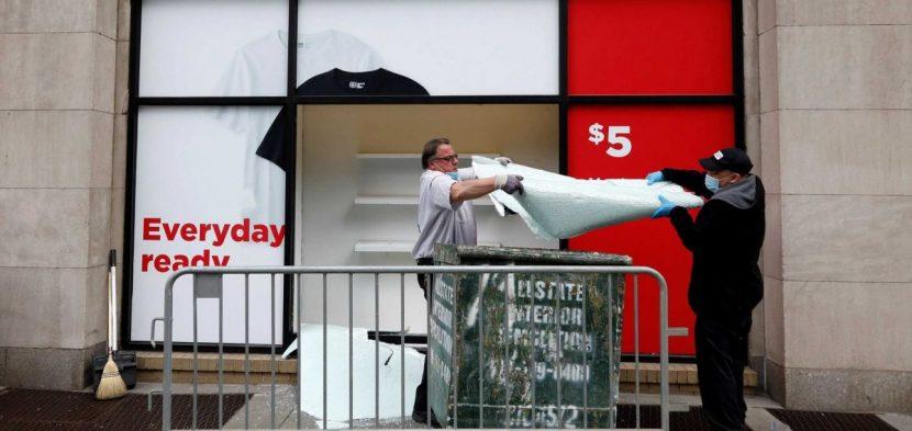 Nueva York ayudará a empresas saqueadas en la reapertura y sitúa la fase 2 en julio