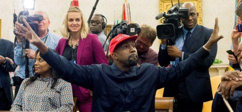 Kanye West, que quiere ser presidente, atraviesa un episodio bipolar