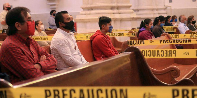La Iglesia Católica de México se declara lista para reabrir templos
