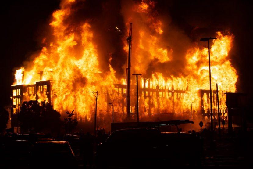 Notificaciones de emergencia de incendios