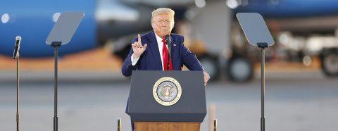 Trump critica a la viuda de Steve Jobs, copropietaria de la revista The Atlantic