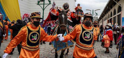 La Mama Negra: un rito mercedario que ahora encara al coronavirus en Ecuador