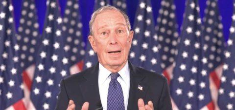 Bloomberg bombardea Florida con avisos en apoyo a Biden