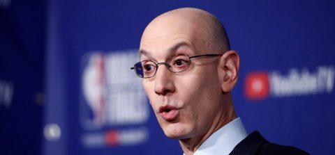 """Adam Silver """"cree"""" que la temporada 2020-21 de la NBA no comenzará hasta el próximo enero"""