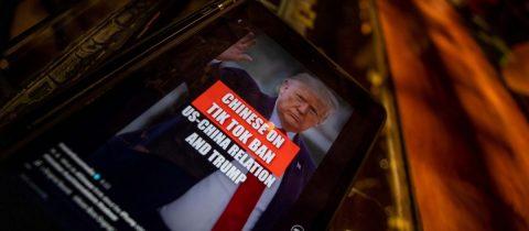 Gobierno Trump prohíbe la distribución de TikTok y WeChat desde el domingo