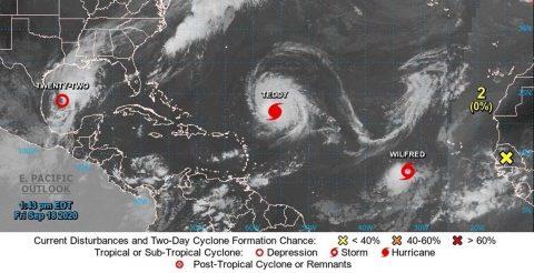 Una nueva tormenta tropical en el Atlántico se adelanta y toma el último nombre