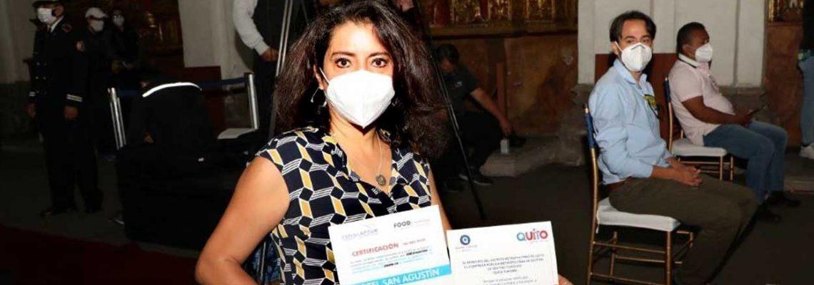 """Quito certifica """"sitios seguros"""" para la reactivación en el Día del Turismo"""