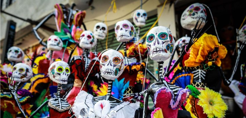 Piñatas, Catrina merge to keep up Mexico's Day of Dead tradition