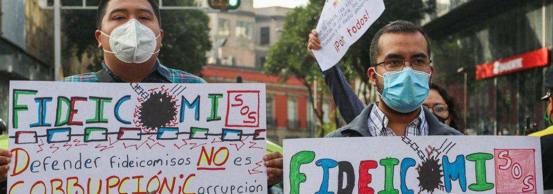 La escalada de tensión por los fideicomisos acorrala al Senado mexicano