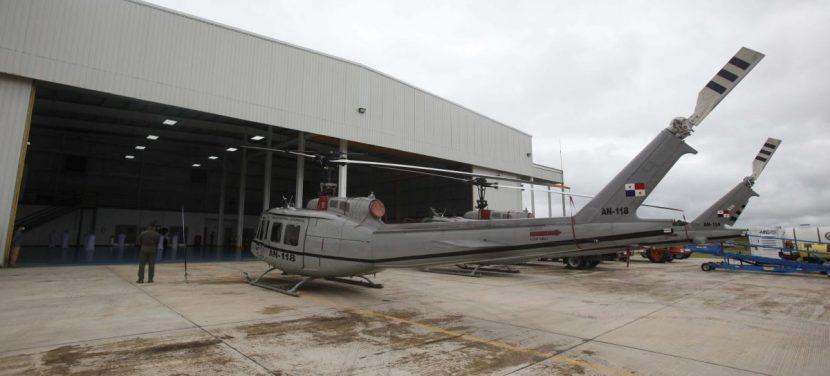 EE.UU. dona helicópteros a Panamá para la lucha contra crimen en la frontera