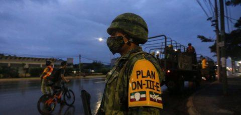 El Caribe mexicano resiente primeros efectos del huracán Zeta