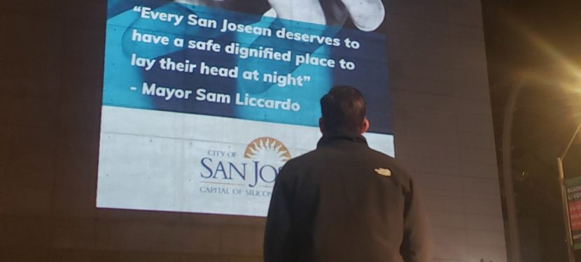 City of San Jose, WeHOPE Launch 'Projecting Hope'