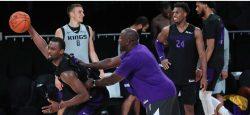 Estrictas medidas de seguridad por la covid-19 establecidas por la NBA