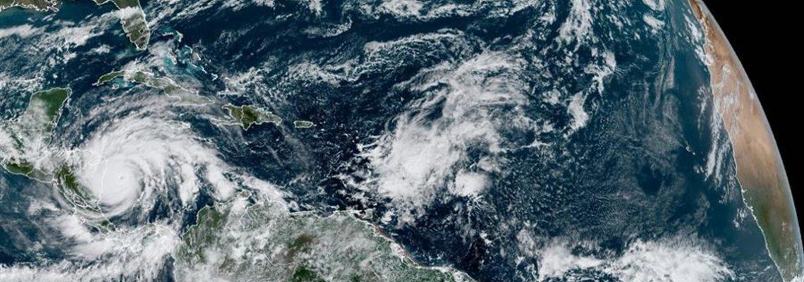 """El """"catastrófico"""" huracán Iota de categoría 5 más cerca de Nicaragua"""