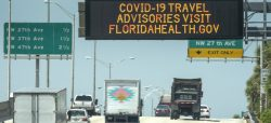 Florida no baja de 10.000 casos nuevos diarios de covid-19 en tres días