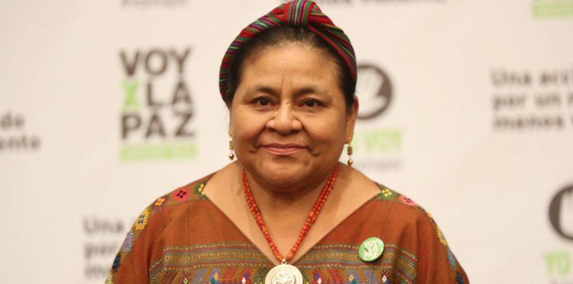 Rigoberta Menchú envía una carta de apoyo a Manzanero, intubado por covid-19