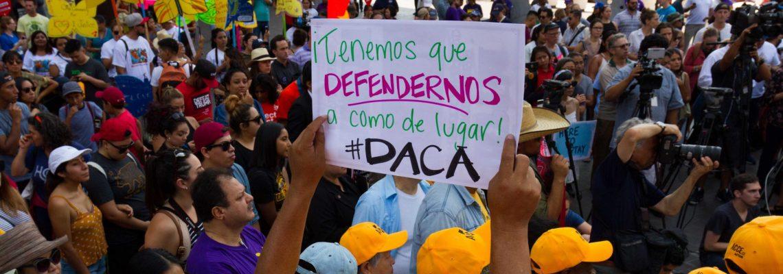 """Los """"soñadores"""" celebran triunfo judicial que restaura DACA y golpea a Trump"""