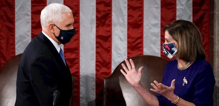 El Congreso de EE.UU. se retira para debatir las objeciones al resultado electoral en Arizona