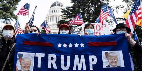 """Partidarios de Trump preparan """"manifestación salvaje"""" en Washington"""