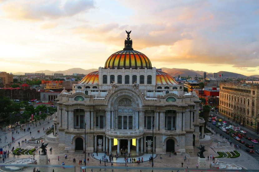 Mexico's Palace of Fine Arts, a Majestic Building Raised Over Three Decades