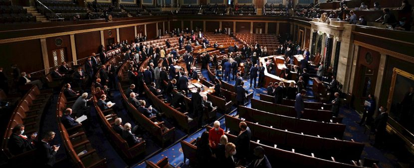 El Congreso retomará esta noche su sesión sobre las elecciones, tras asalto
