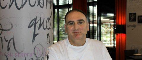 El chef José Andrés será parte de la ceremonia de investidura de Joe Biden