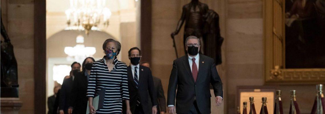 Los demócratas activan el segundo juicio político para inhabilitar a Trump