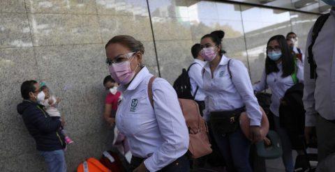 A 1.000 km de casa para apoyar los saturados hospitales de Ciudad de México