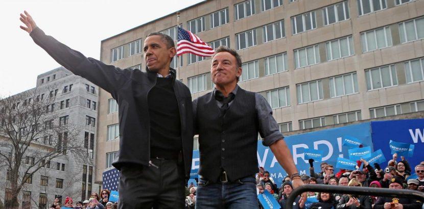 Spotify presenta un nuevo pódcast de Bruce Springsteen y Barack Obama