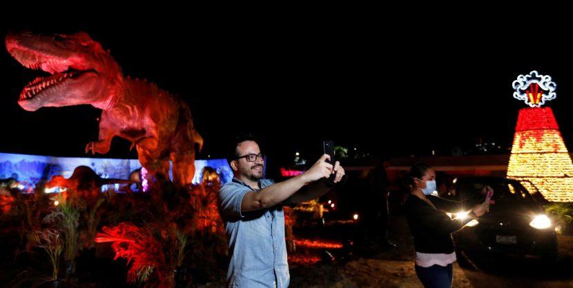 Un parque temático en México busca llevar esperanza en medio de la pandemia