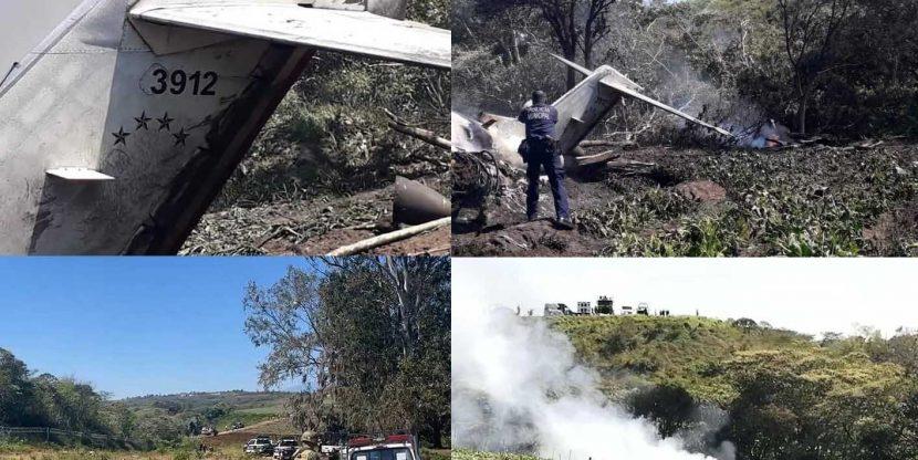 Mueren seis militares en accidente aéreo en el estado mexicano de Veracruz