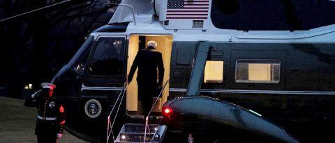 Biden busca retomar la iniciativa con su primer viaje oficial en el país