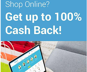 Shop Online and Get 100% Rebate
